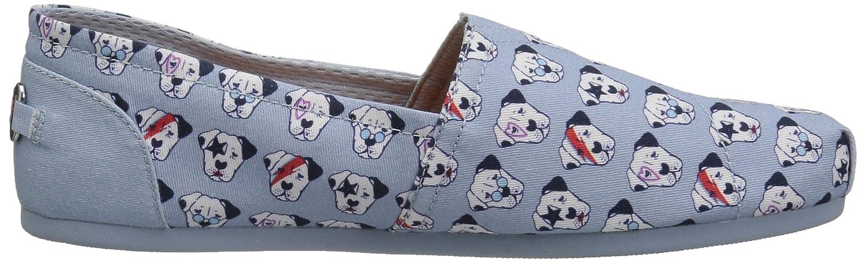 Skechers BOBS from Women's Bobs Plush-Doggie Bowie Flat B0725ZN3CH 9.5 B(M) US|Light Blue