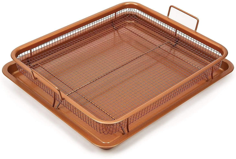 Copper Crisper Oven Tray