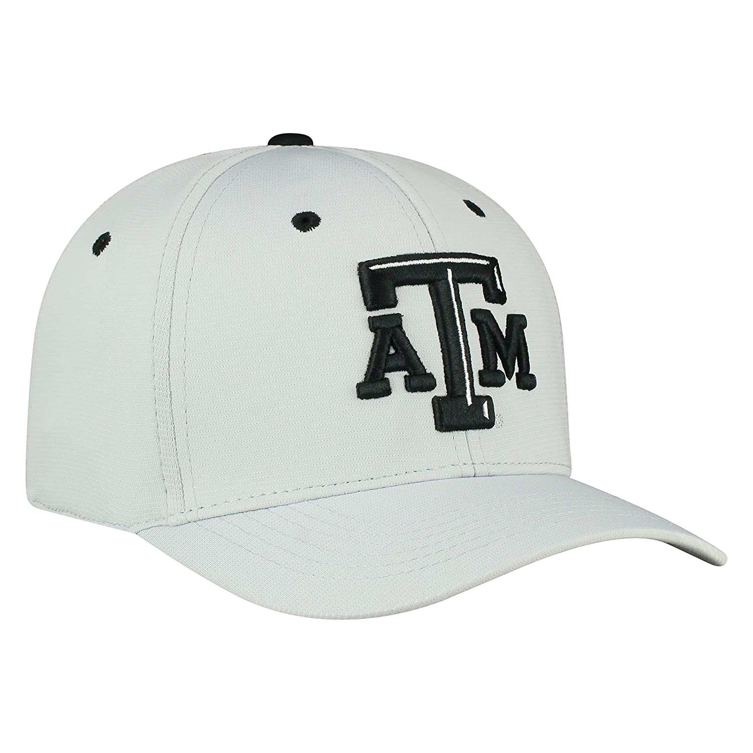 low priced 6c907 d3cce Top of the World Texas A M Aggies Official NCAA One Fit Hypower Hat Cap  435718 Sports   Outdoors
