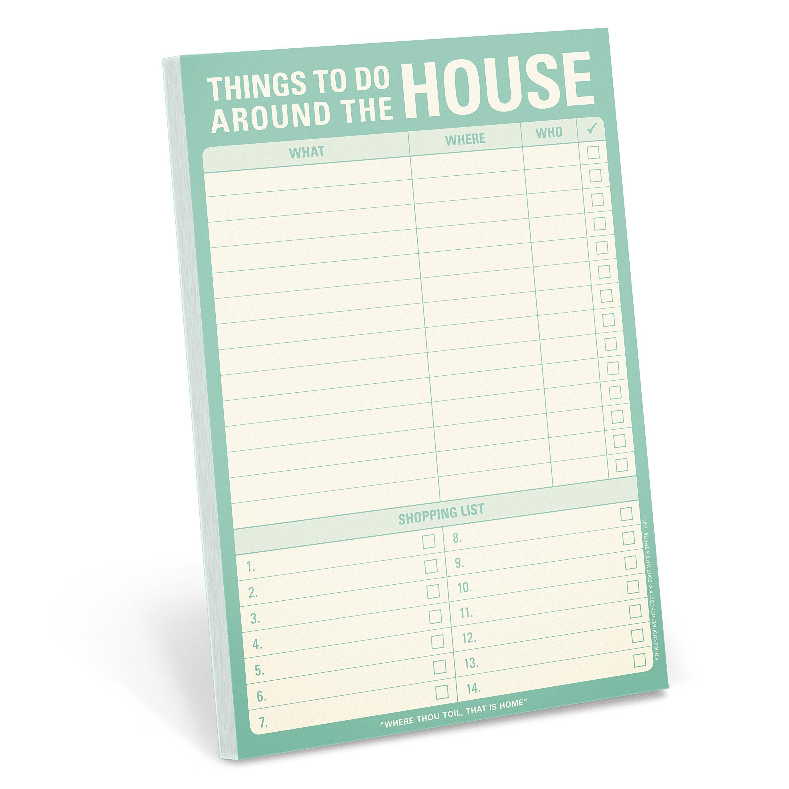 Knock Things Around House Pad product image