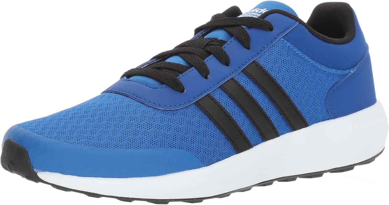 Adidas Kid's Cloudfoam Race Sneakers, Blue/Core Black/Collegiate ...