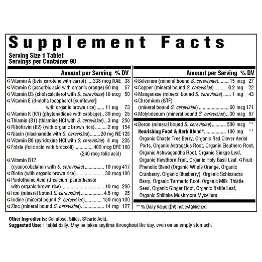 Amazon.com: MegaFood - Suplemento dietético multivitamínico ...