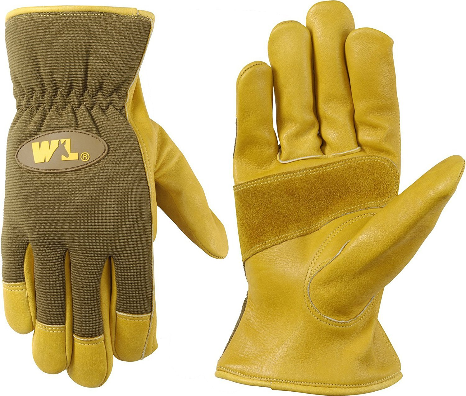 Good quality leather work gloves - High Quality Wells Lamont Leather Palm Work Gloves Cowhide Ultra Comfort Large