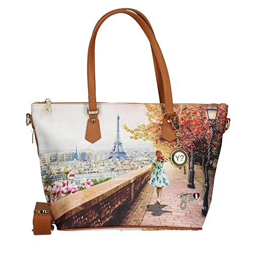 Y NOT J-396 SHOPPER Donna MULTICOLOR TU  Amazon.it  Scarpe e borse 270d6062c3f