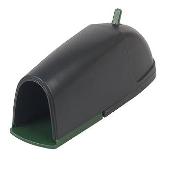Gardigo Trampa para ratón cubierta | Trampa de ratón profesional y reutilizable - Protección para niños