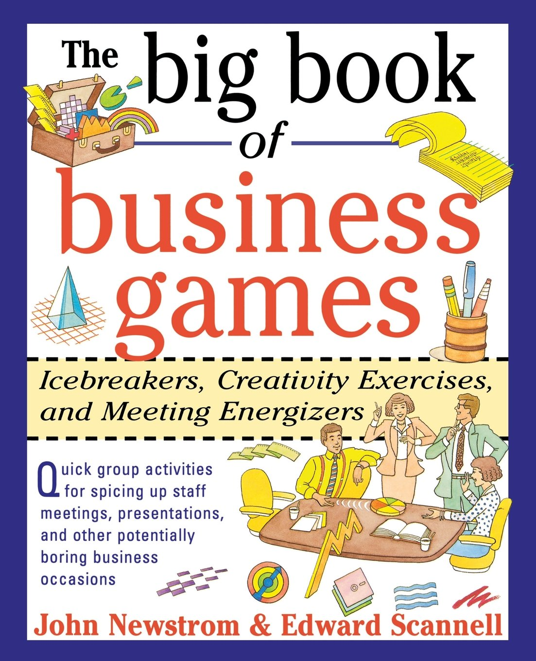 Big Book Business Games Icebreakers product image