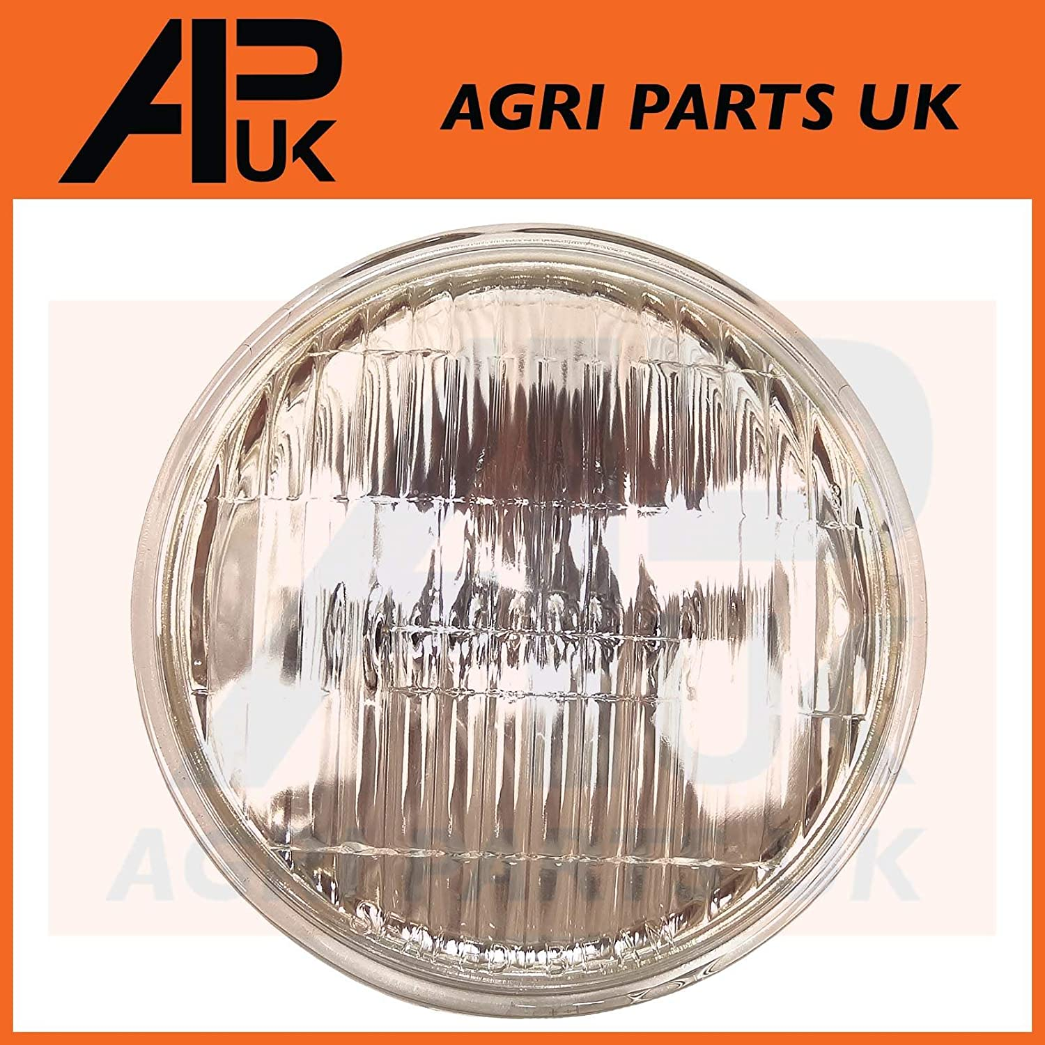 APUK Head Light Lamp Headlight Sealed Beam Compatible with Ford 2000 2600 3000 4000 5000 7000 Tractor