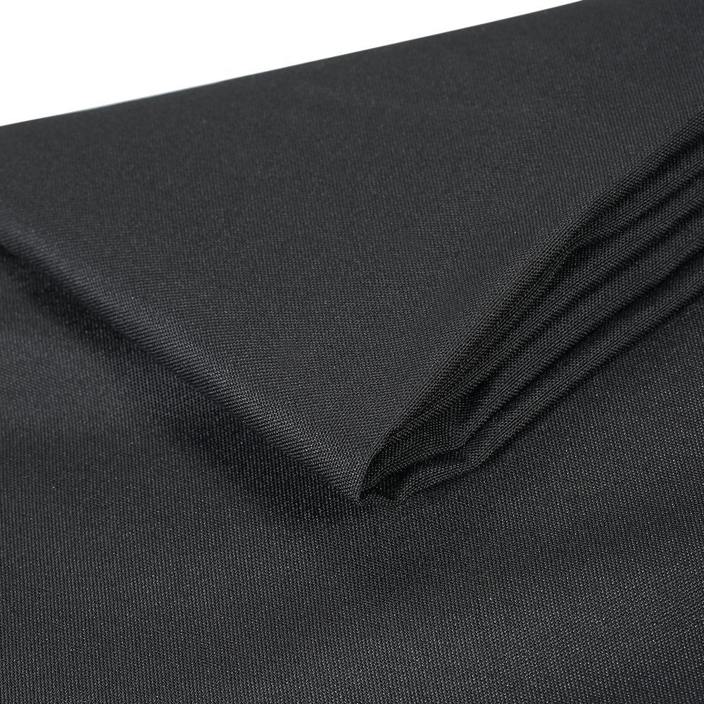 Htovila Black Rectangular Polyester Kitchen Tablecloth, Perfect for 6 foot, Dinner Parties, Holidays, Everyday use, 90 x 126 Inches by Htovila (Image #4)