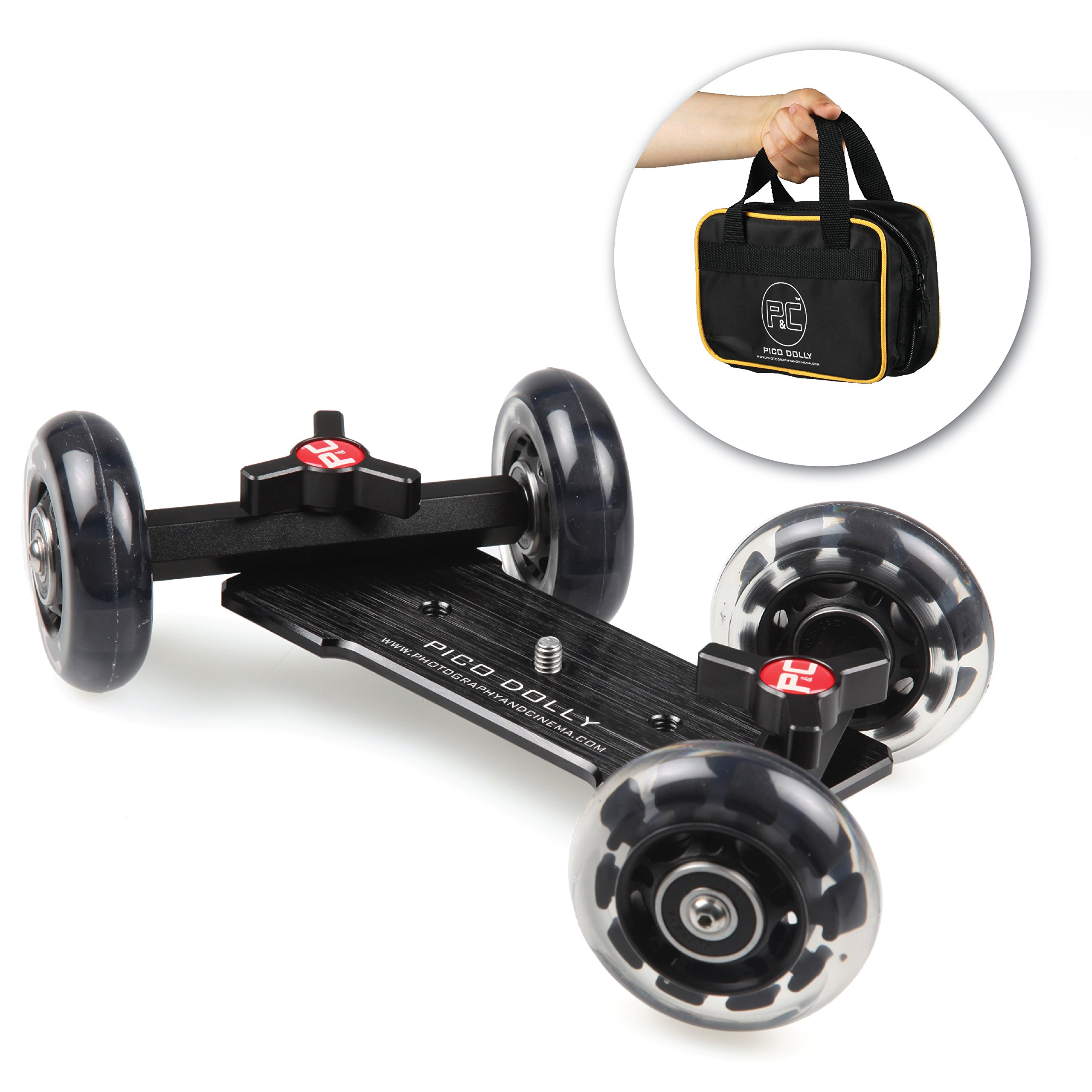 Pico Flex Dolly ONLY Digital Dslr Skater Camera Dolly Slider Table Top Dolly By Photosmart