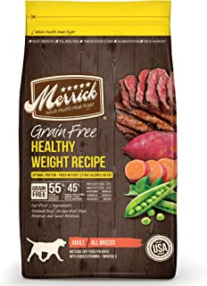 product image for Merrick Healthy Weight Grain Free with Real Meat + Sweet Potato Dry Dog Food