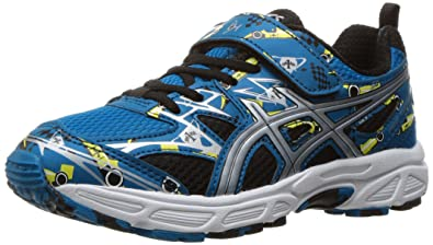 ASICS Kids Pre-Turbo PS Thunder Blue/Silver/Sun Boys