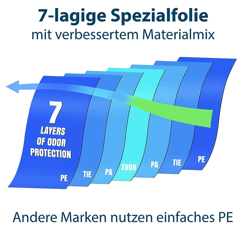 Kompatibel mit Angelcare Windeleimer Nachf/üllkassetten 6 St/ück WINDELMAX Windeleimer Nachf/üllkassette jeweils f/ür 270 Windeln