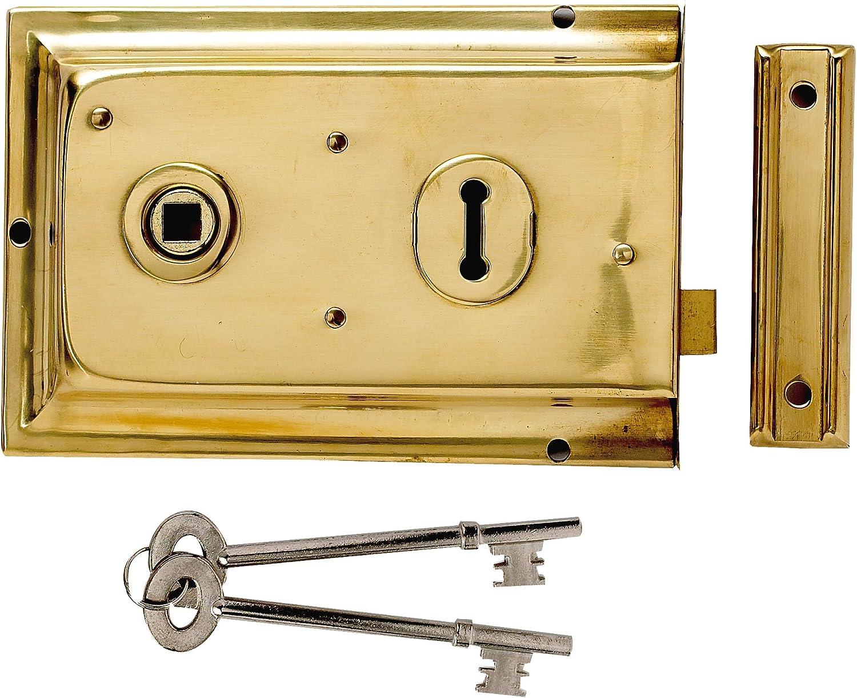 Yale Locks P334 Visi Pack - Cerrojo (156 x 104 mm), Color latón [Importado de Reino Unido]: Amazon.es: Bricolaje y herramientas
