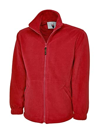 81ef4bb7 Image Unavailable. Image not available for. Color: Uneek 300GSM Classic  Full Zip Micro Fleece ...