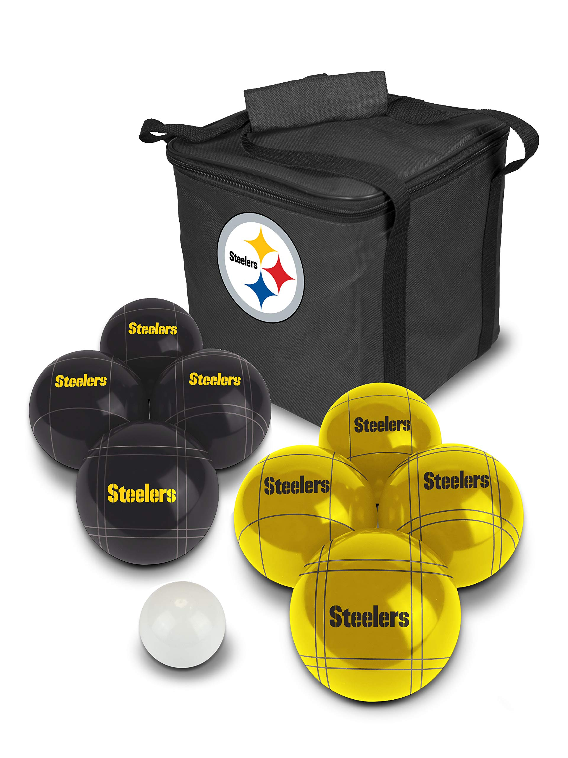 PROLINE NFL Pittsburgh Steelers Bocce Ball Set by PROLINE