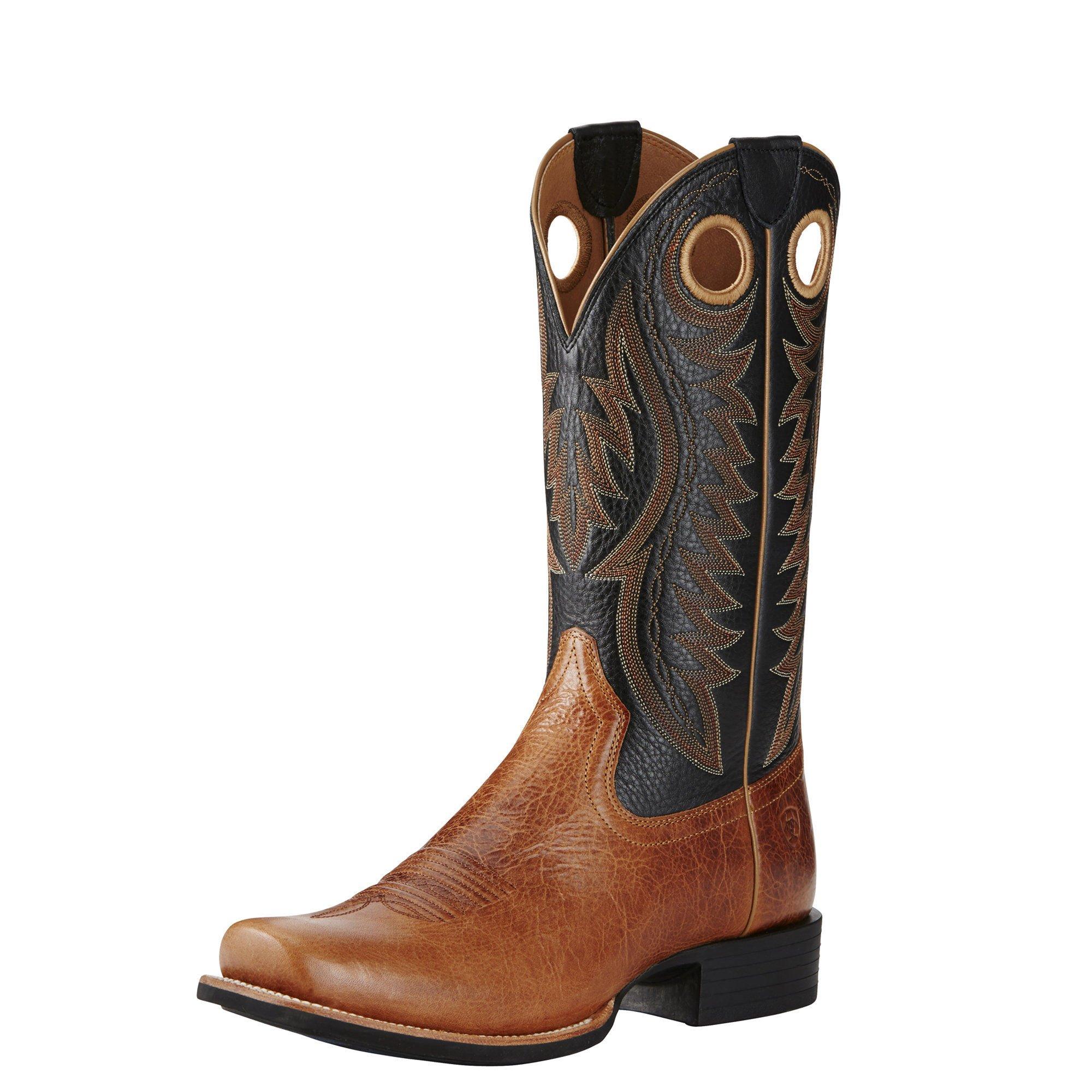Ariat Men's Cutter Classic VX Western Cowboy Boot, Gingersnap, 13 D US