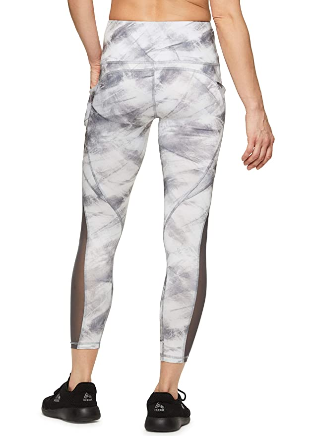 1f82d6e2bc1954 Amazon.com: RBX Active Women's Printed Running Workout Yoga Leggings:  Clothing