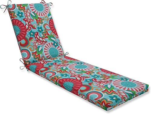 Pillow Perfect Outdoor/Indoor Sophia Chaise Lounge Cushion