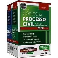 Combo TN - Código Civil e Código Processo Civil - 13ª Edição 2021