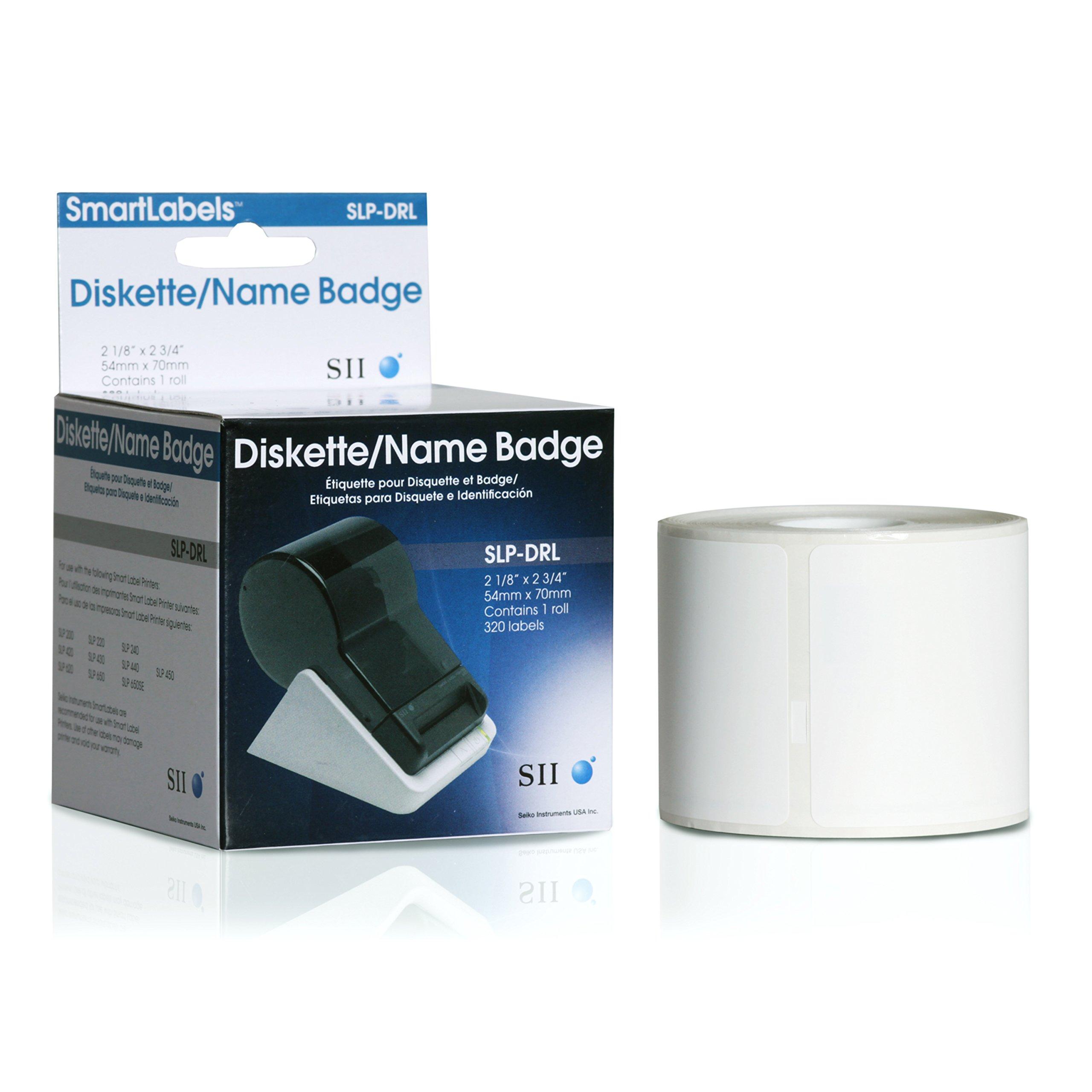 Seiko Instruments Diskette Labels for Smart Label Printers (SLP-DRL)