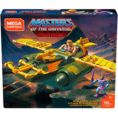Mega Construx Probuilder Wind Raider Attack: Toys & Games [5Bkhe0201165]