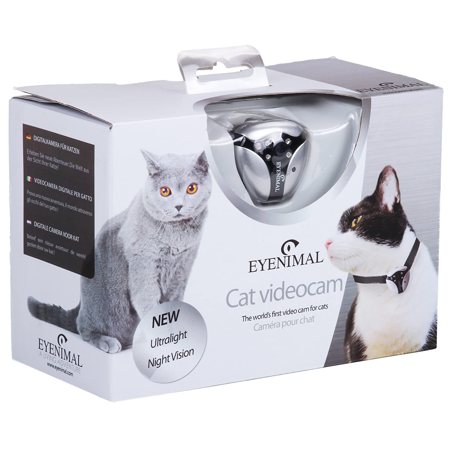 Amazon DOGTEK Eyenimal Cat Video Camera with Built In Night