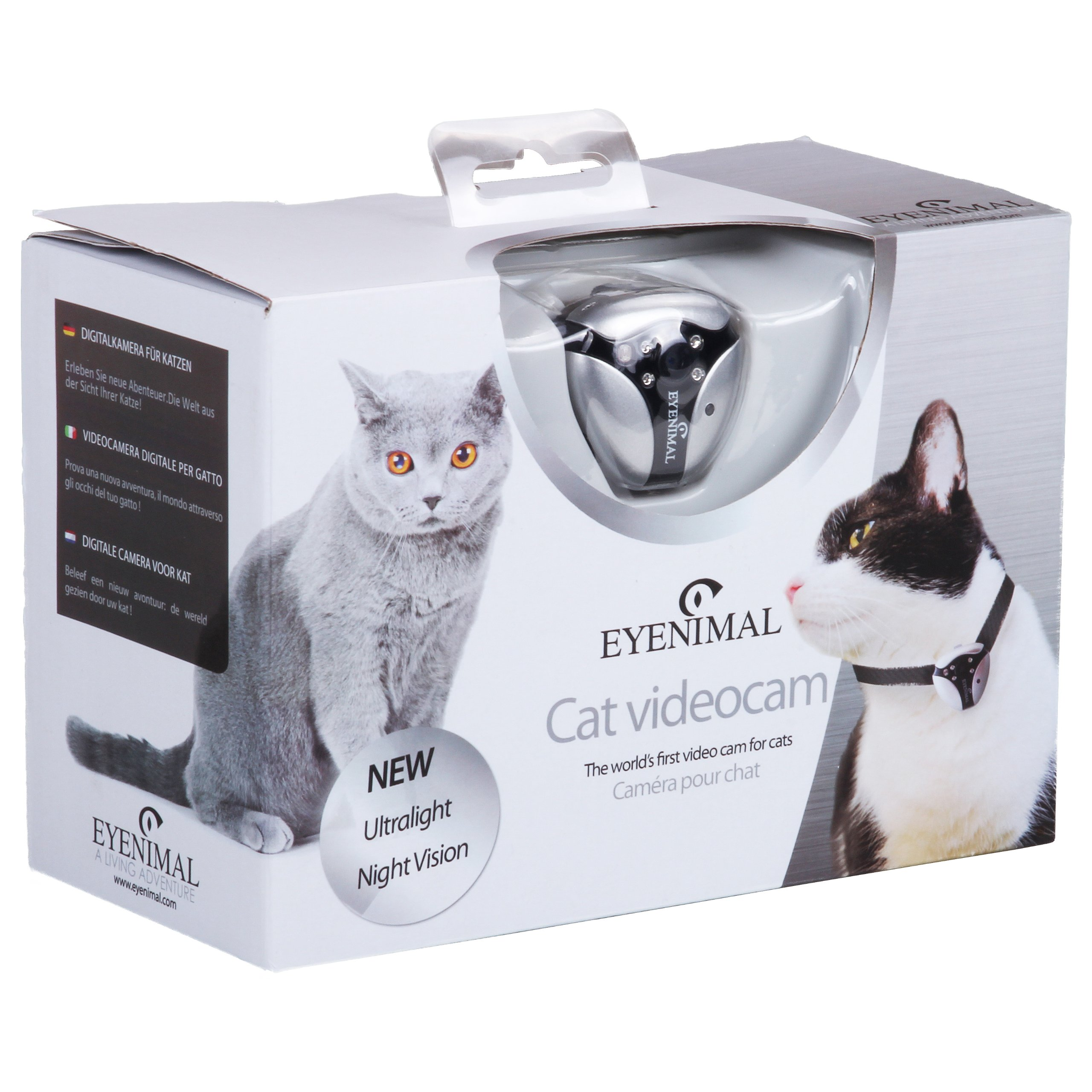 DOGTEK Eyenimal Cat Video Camera with Built-In Night Vision