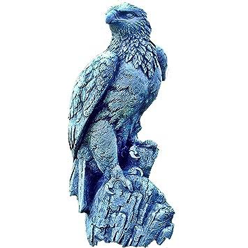 Adler Falke Vogel Raubvogel Steinfigur