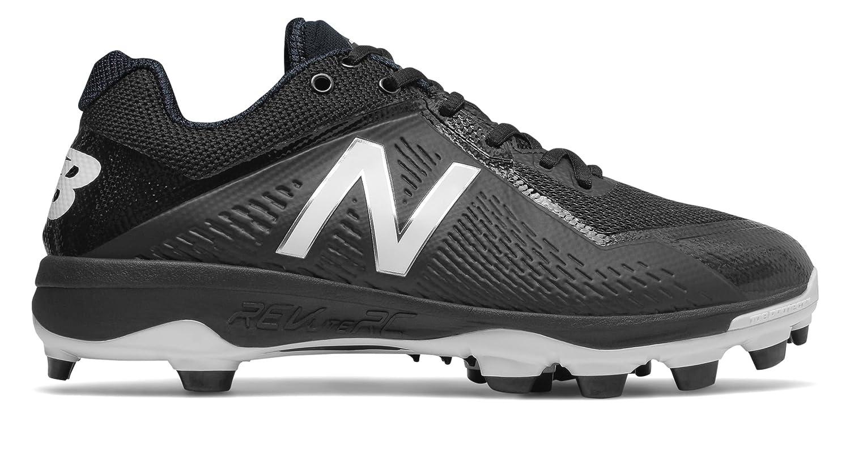 (ニューバランス) New Balance 靴シューズ メンズ野球 TPU 4040v4 Black with White ブラック ホワイト US 8 (26cm) B073YN8SY1