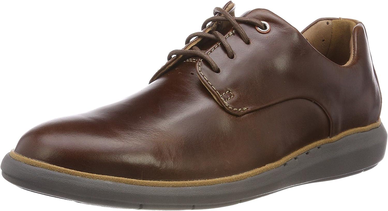 Clarks Un Voyageplain, Zapatos de Cordones Derby para Hombre