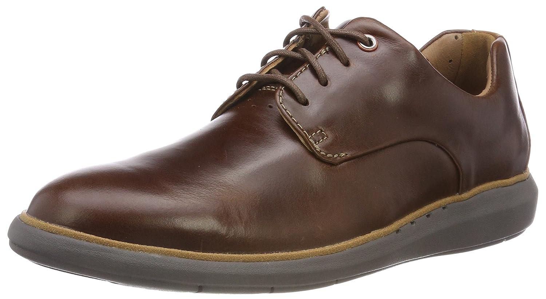 TALLA 47 EU. Clarks Un Voyageplain, Zapatos de Cordones Derby para Hombre