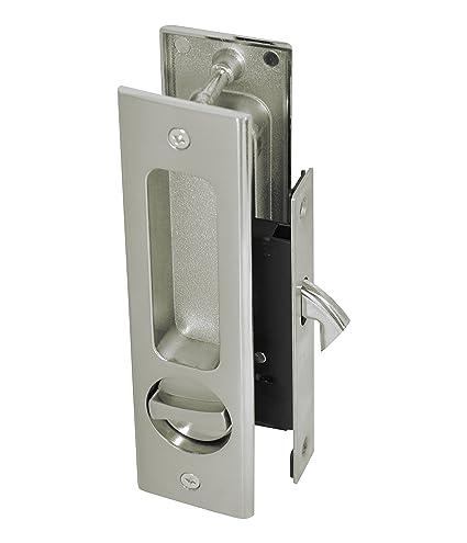 Phenomenal Supreme Bathroom Privacy Sliding Pocket Door Lock Set With Thumb Turn Snib Slot Release Download Free Architecture Designs Embacsunscenecom