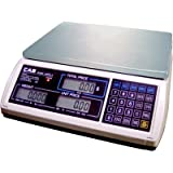 CAS S-2000 Jr Price Computing Scale with LCD Display 60 lbs