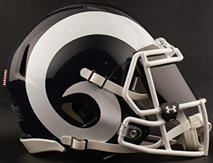 911c66a37 Image Unavailable. Image not available for. Color  Riddell Los Angeles RAMS  NFL ...