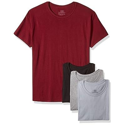 Hanes Men's FreshIQ ComfortSoft Crewneck T-Shirt 4-Pack at Amazon Men's Clothing store