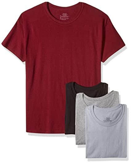 a7cb6e57015 Hanes Men s FreshIQ ComfortSoft Crewneck T-Shirt 4-Pack at Amazon ...