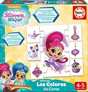 Educa Borrás–Shimmer And Shine aprendo i colori (17712)