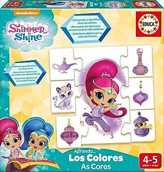 Educa Borrás Shimmer and Shine Aprendo Los Colores, (17712): Amazon.es: Juguetes y juegos