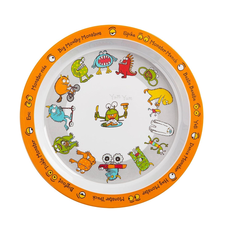 Tyrrell Katz Monsters Design Melamine Plate