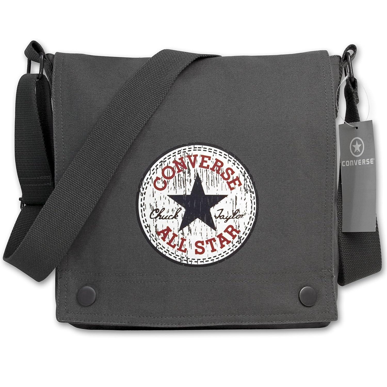 Converse Vintage Patch Fortune Unisex Umhängetasche, black, 25,5 x 6 x 27 cm, 98305A-30