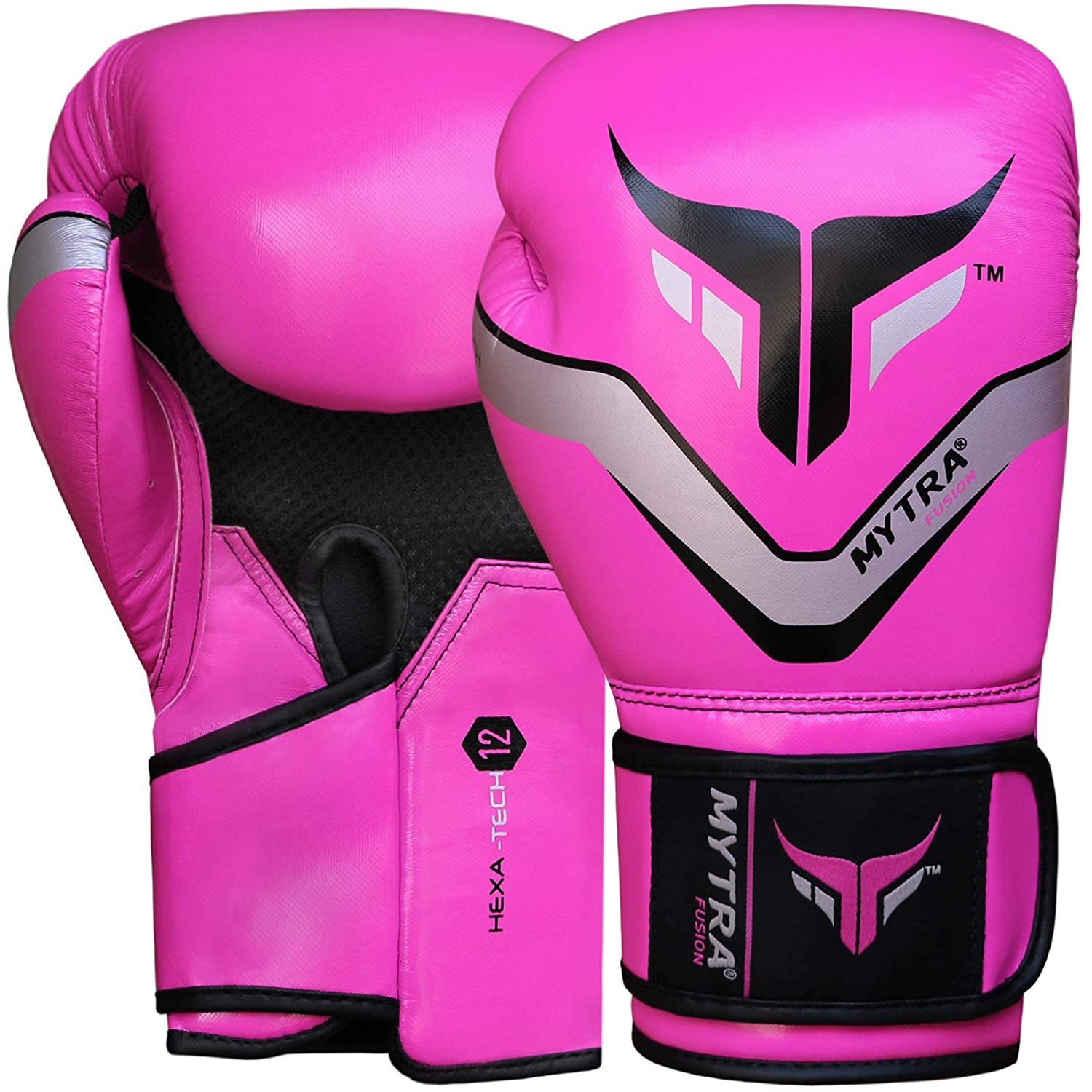 Mytra Fusion Hexa-Tech Boxing Gloves Synthetic Leather Boxing Gloves for Training Punching
