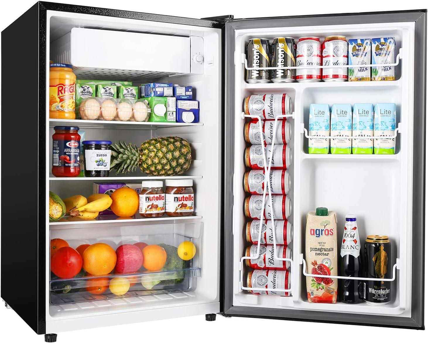 TECCPO Best Semi-Defrosting Compact Refrigerator.