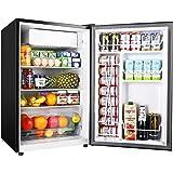 TECCPO Mini Fridge TAMF33, 4.5 Cu.Ft Mini Fridge with Freezer, Energy Star, Auto Defrost, Super Quiet, Small Refrigerator for