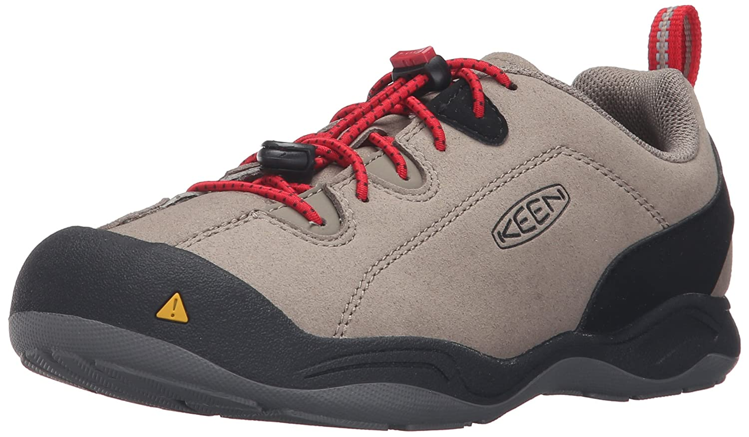 KEEN Jasper Shoe (Little Kid/Big Kid) B01920TM5C 3 Youth US Big Kid|Brindle/Tango Red