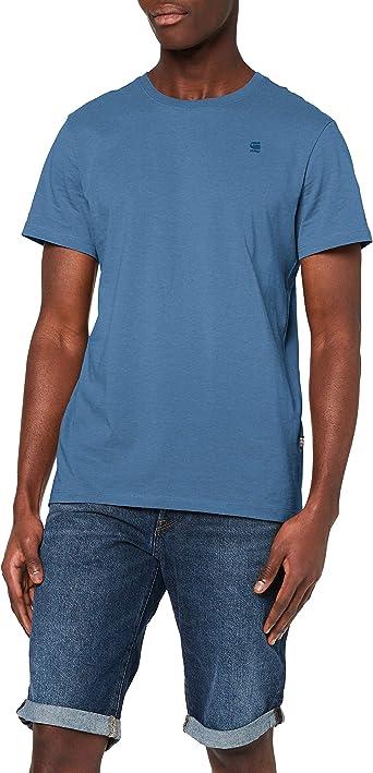 G-STAR RAW Base-s R T S/s Camiseta para Hombre: Amazon.es: Ropa y accesorios