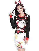 V28 Christmas Sweater Dress, Women Girls Ugly...