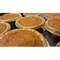 "Sweet Potato Pie 8-3"" Servings/ White Butter Pie Crust/ Individually Wrapped Sweet Potato Pies/ Organic Sweet Potato…"