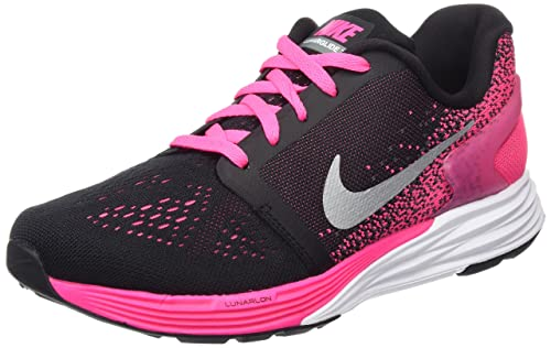 official photos ccf84 5fee5 ... low price nike girls lunarglide 7 gs running shoes black black 0aef9  d819e