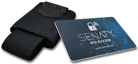 Rfidnfc Schutz Blocking Card Mini Geldbörseslim Wallet Mit