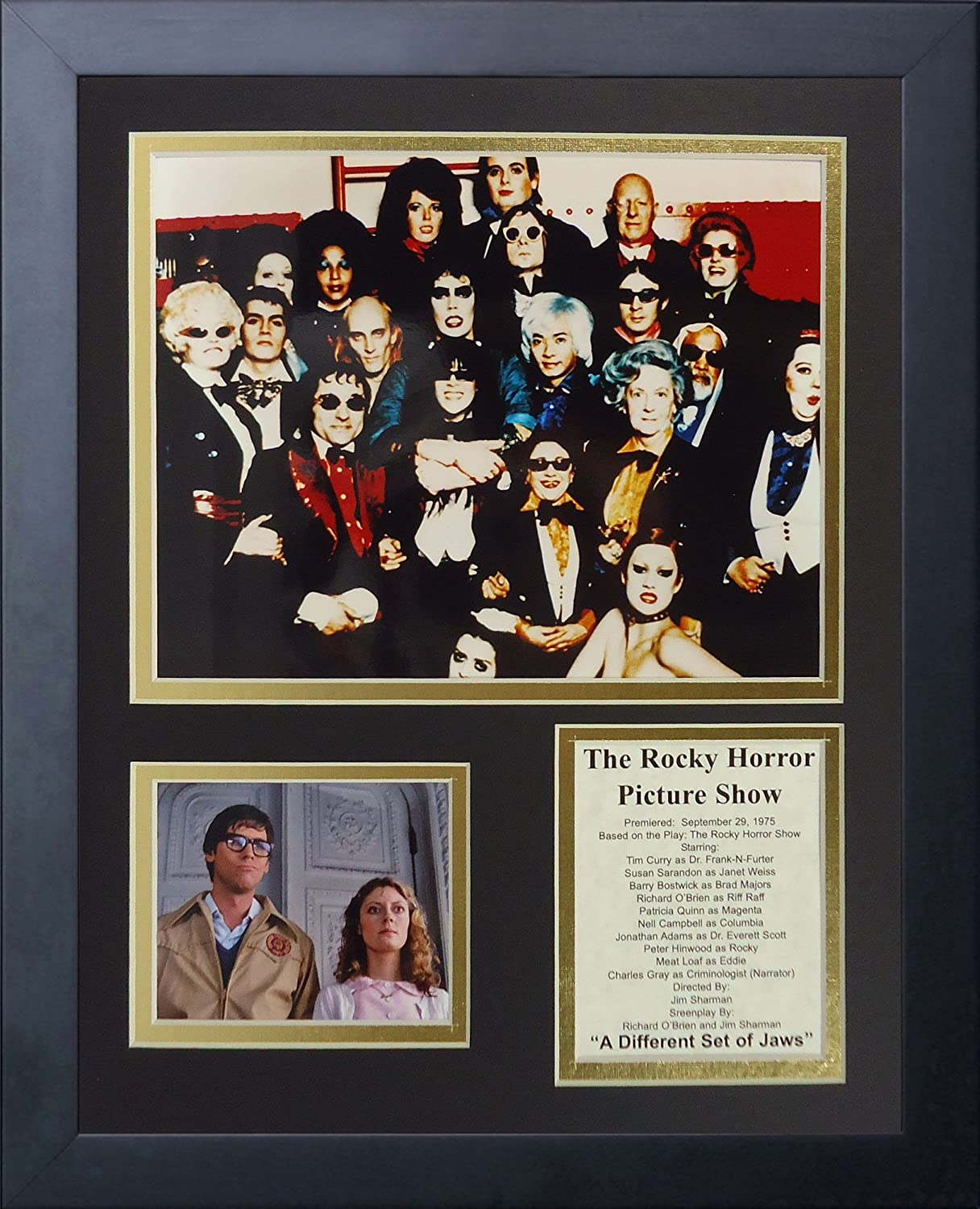 """Legends Never Die """"The Rocky Horror Picture Show Framed Photo Collage, 11 x 14-Inch"""